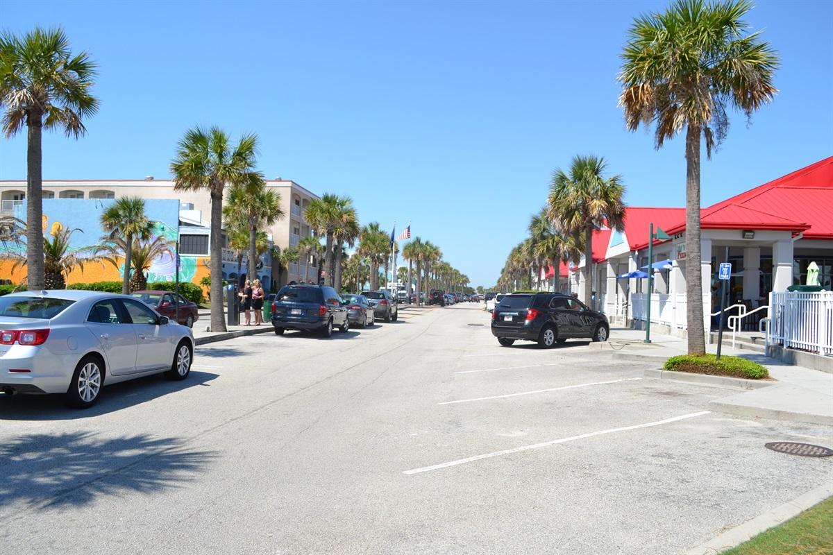 Ocean Blvd on Isle of Palms, just a block away
