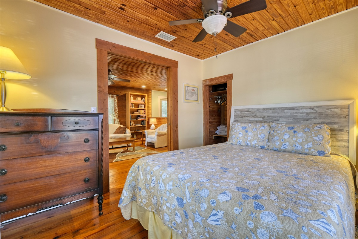 Master Bedroom off of Living Area