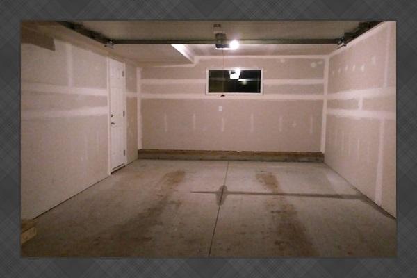 Single garage for parking
