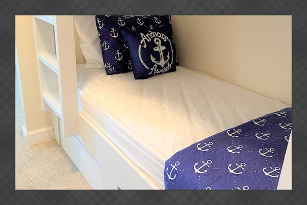 Bunk beds just off Master Suite #2 bedroom