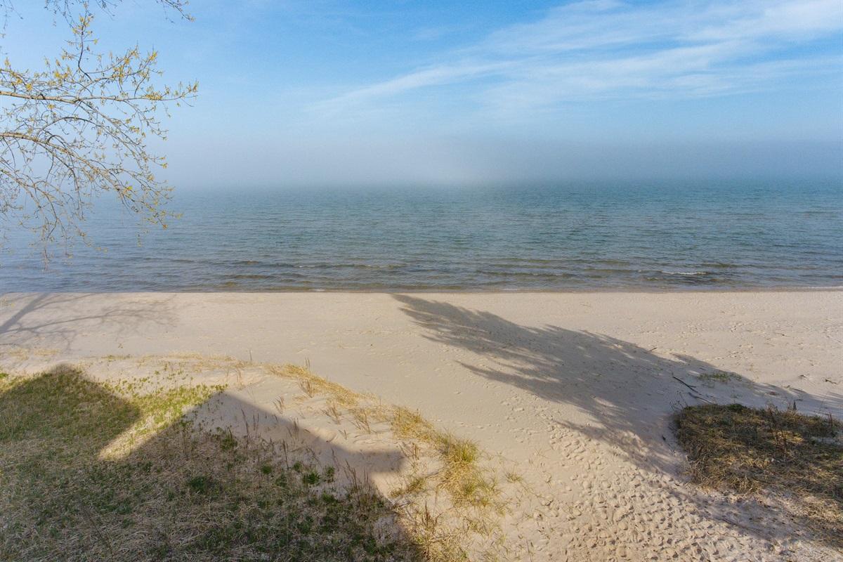 Beautiful Mist on the Lake