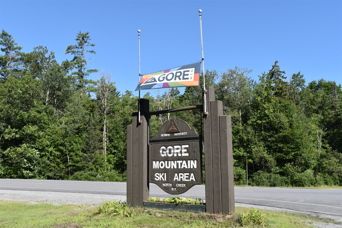 Property is Adjacent to Gore Mountain