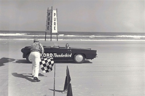 Beach racing - NASCAR - was born at Daytona!  Visit the nearby North Turn museum