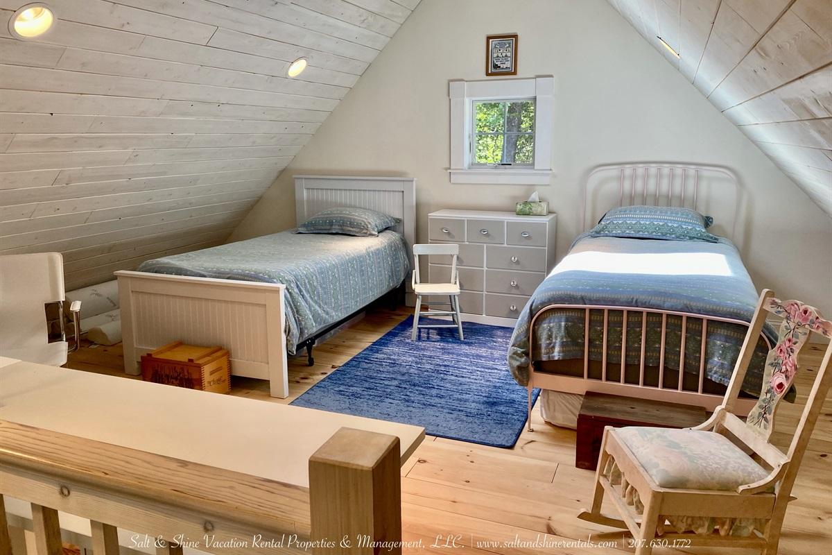 Sleeping Loft opens to living area below