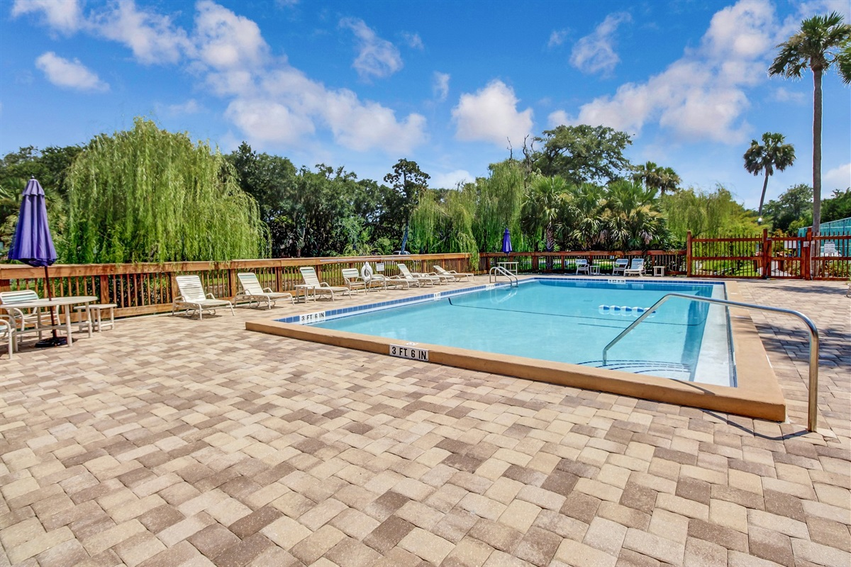 Pool - Just Steps from your Condo