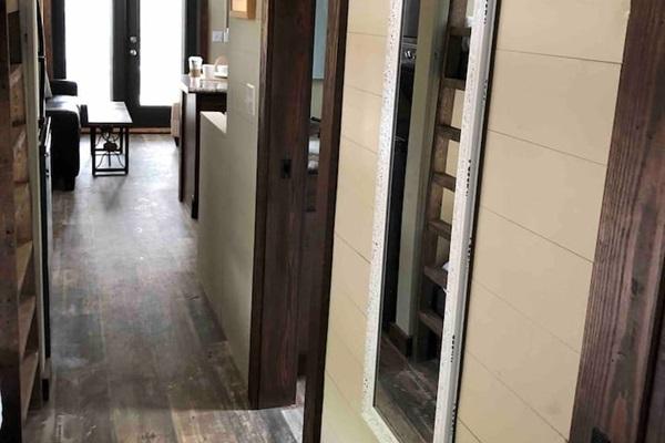 Hallway From Master To Kitchen