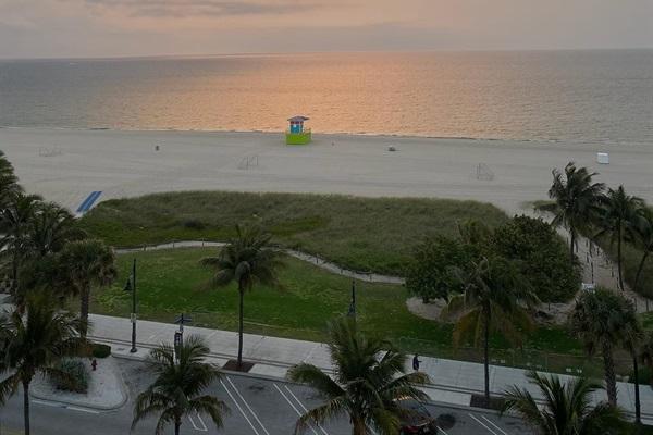 Our beautiful beach just a few blocks away!