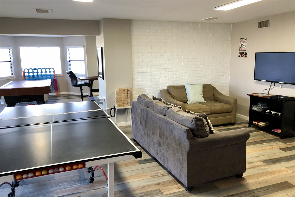 Ready for the next ping pong challenger.