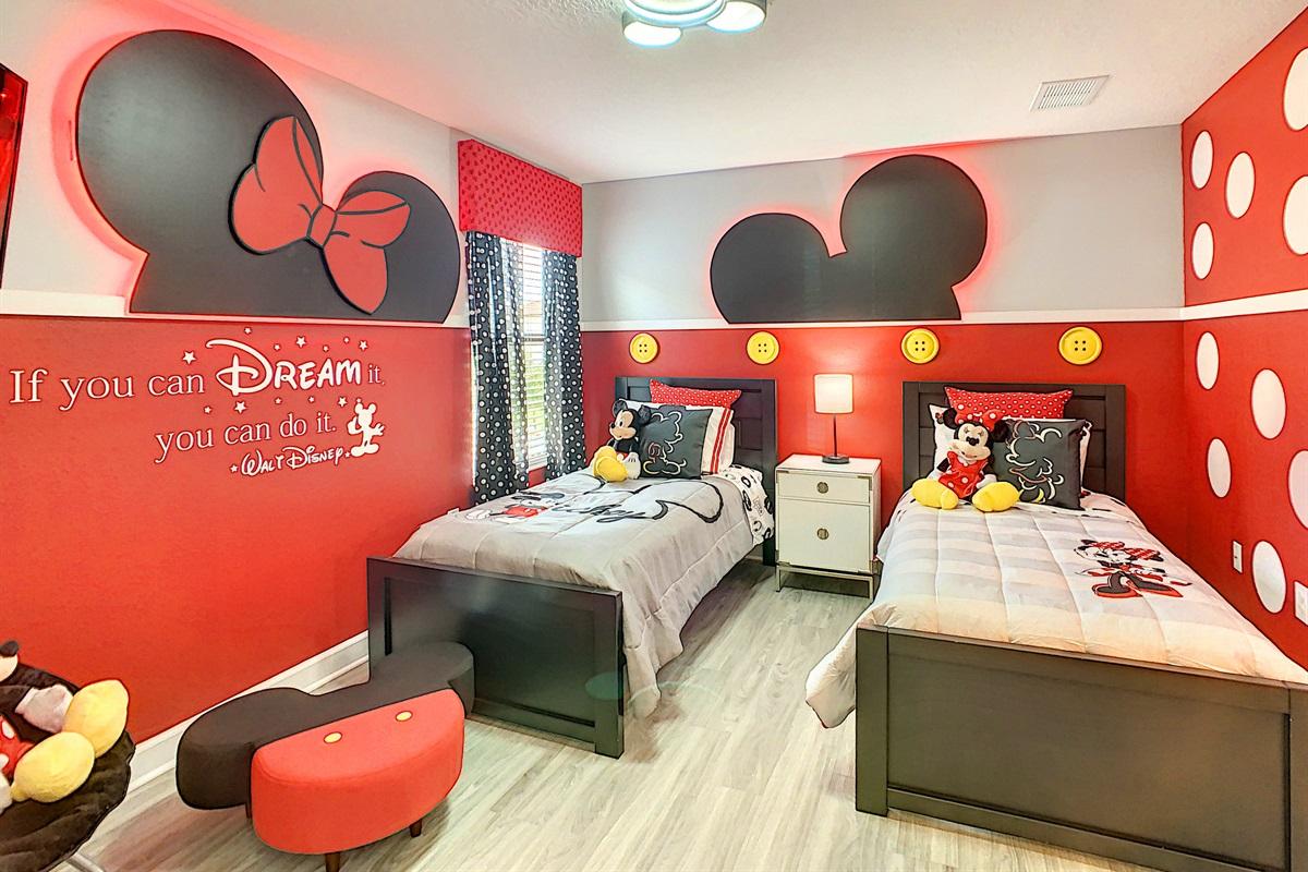 Bedroom #3-2nd Floor-Twin Beds