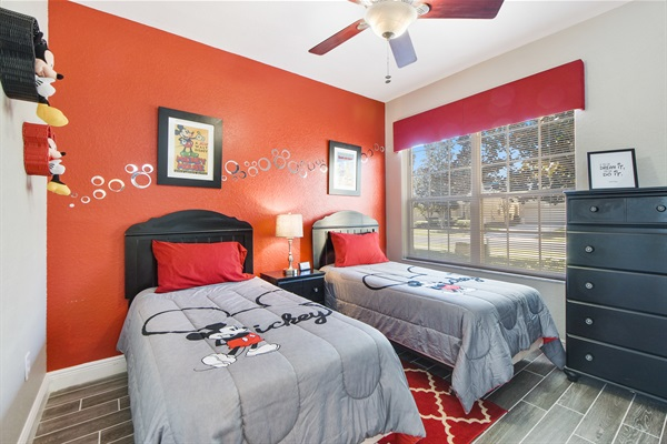 Mickey Room - 2x Twin beds
