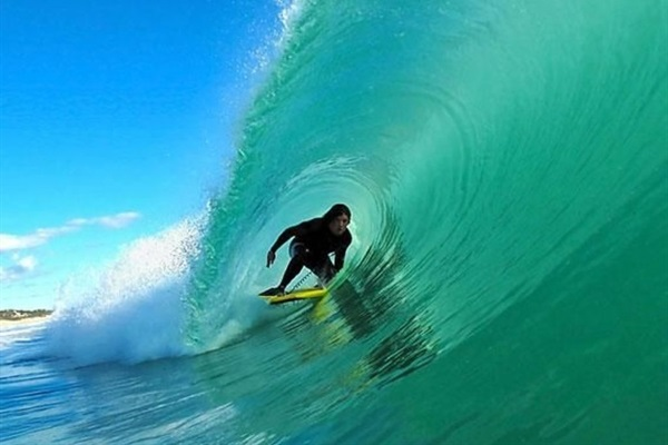 Best waves on the east coast with instructors nearby