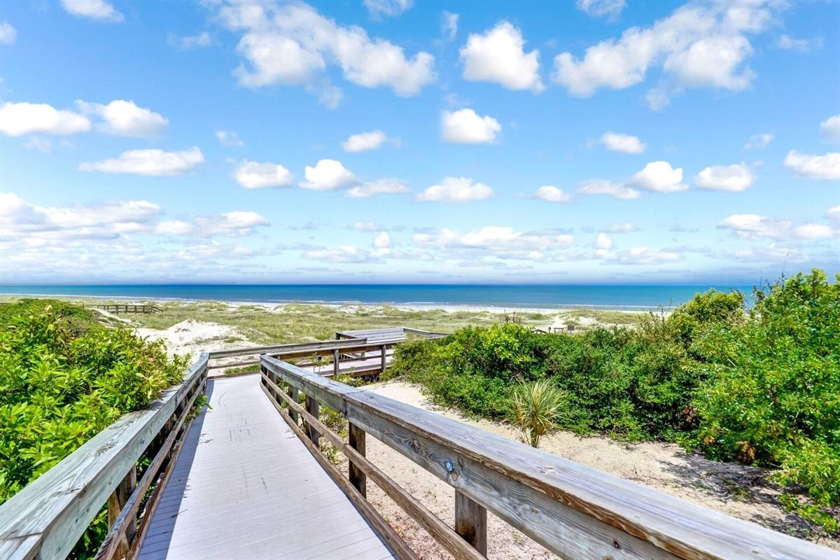 Boardwalk to the Beach
