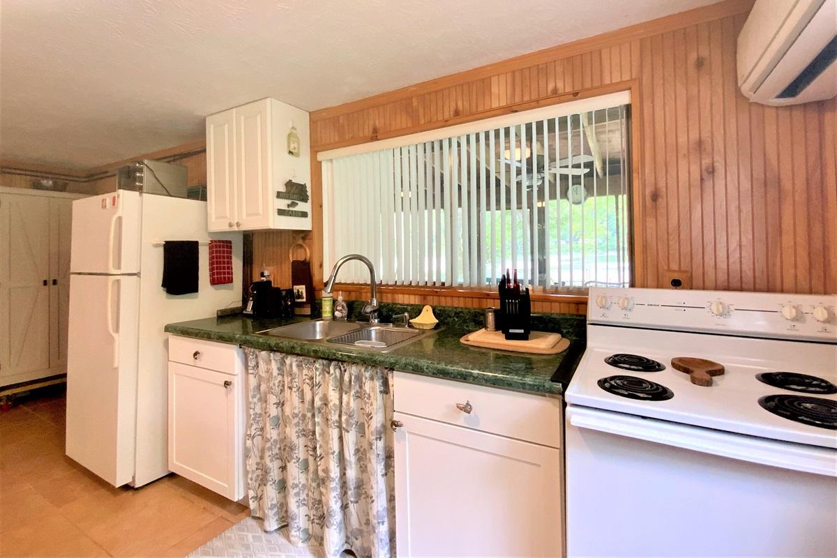 Cozy Cabin Kitchen