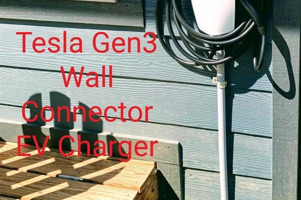 Tesla Gen3 Wall Connector EV Charger