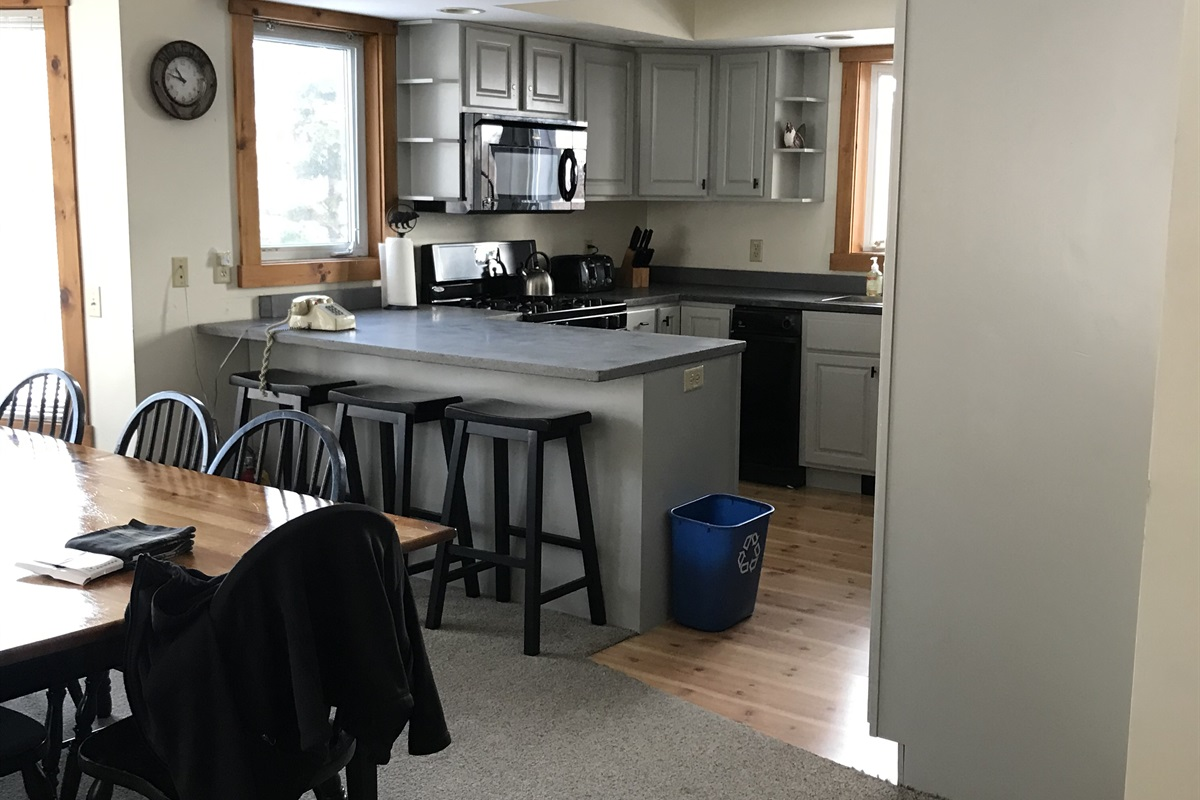 Newly renovated kitchen. Stylish and functional