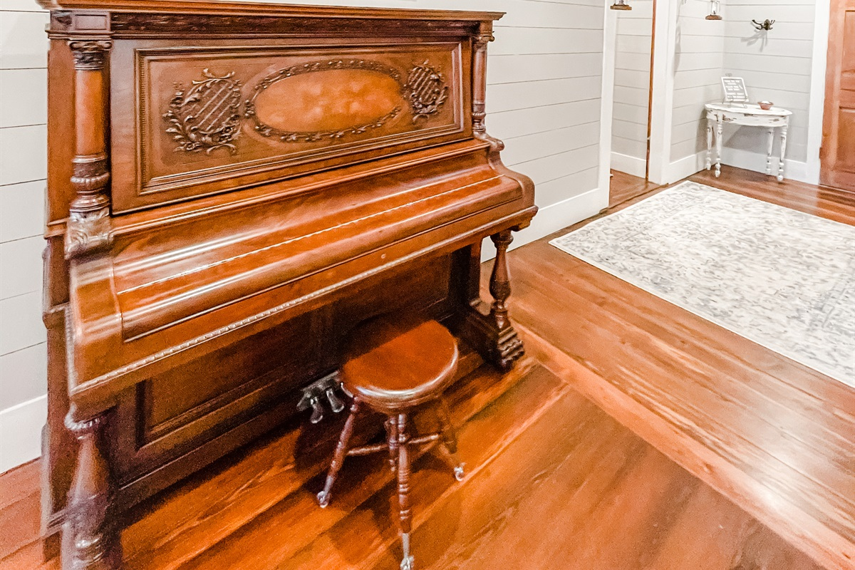 Early 1900's Restored Piano
