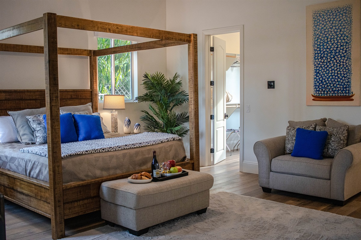 The Master Suite, suitable for the monarchs of the group