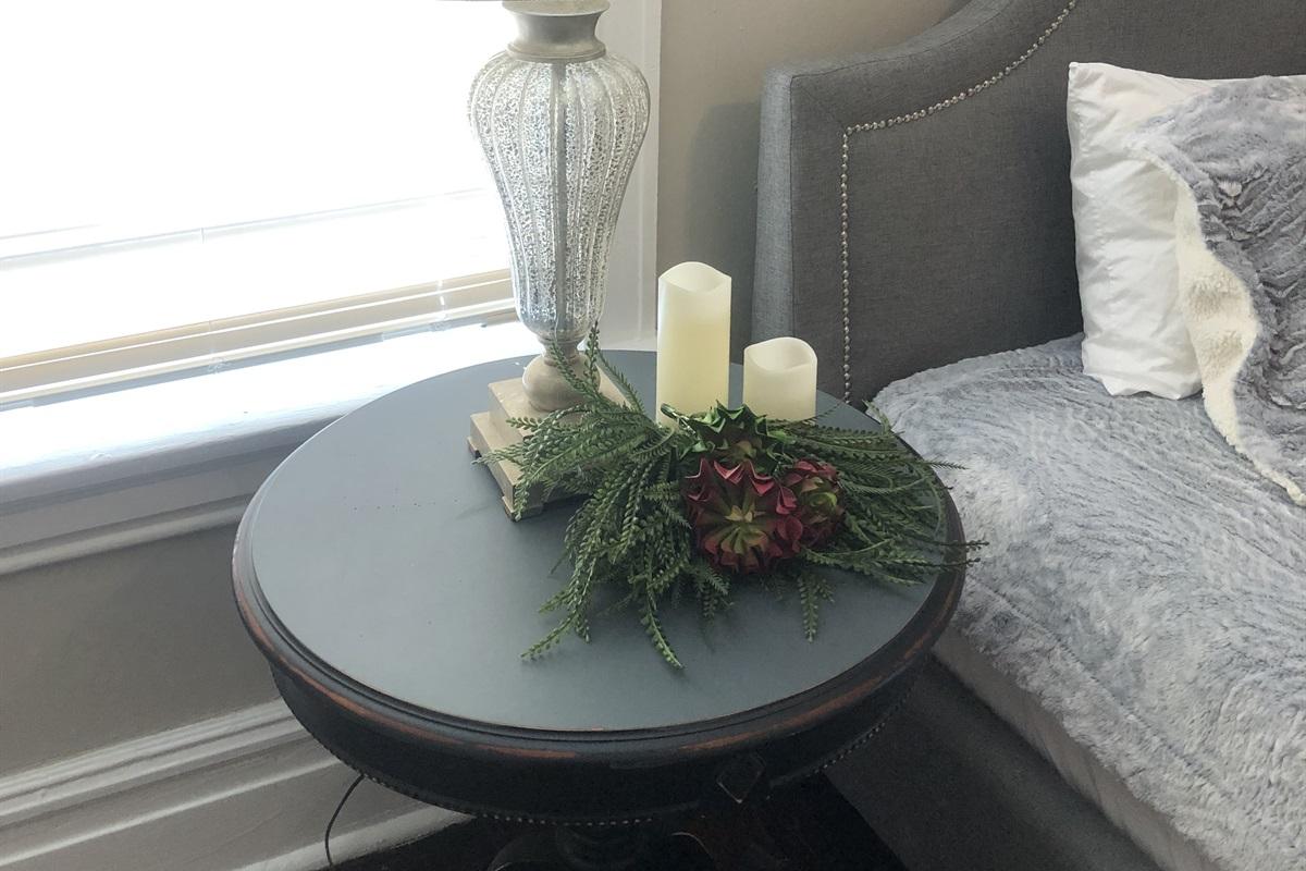 Side table bedroom