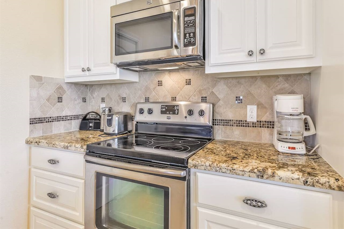Kitchen Offers Updated Stainless Steel Appliances