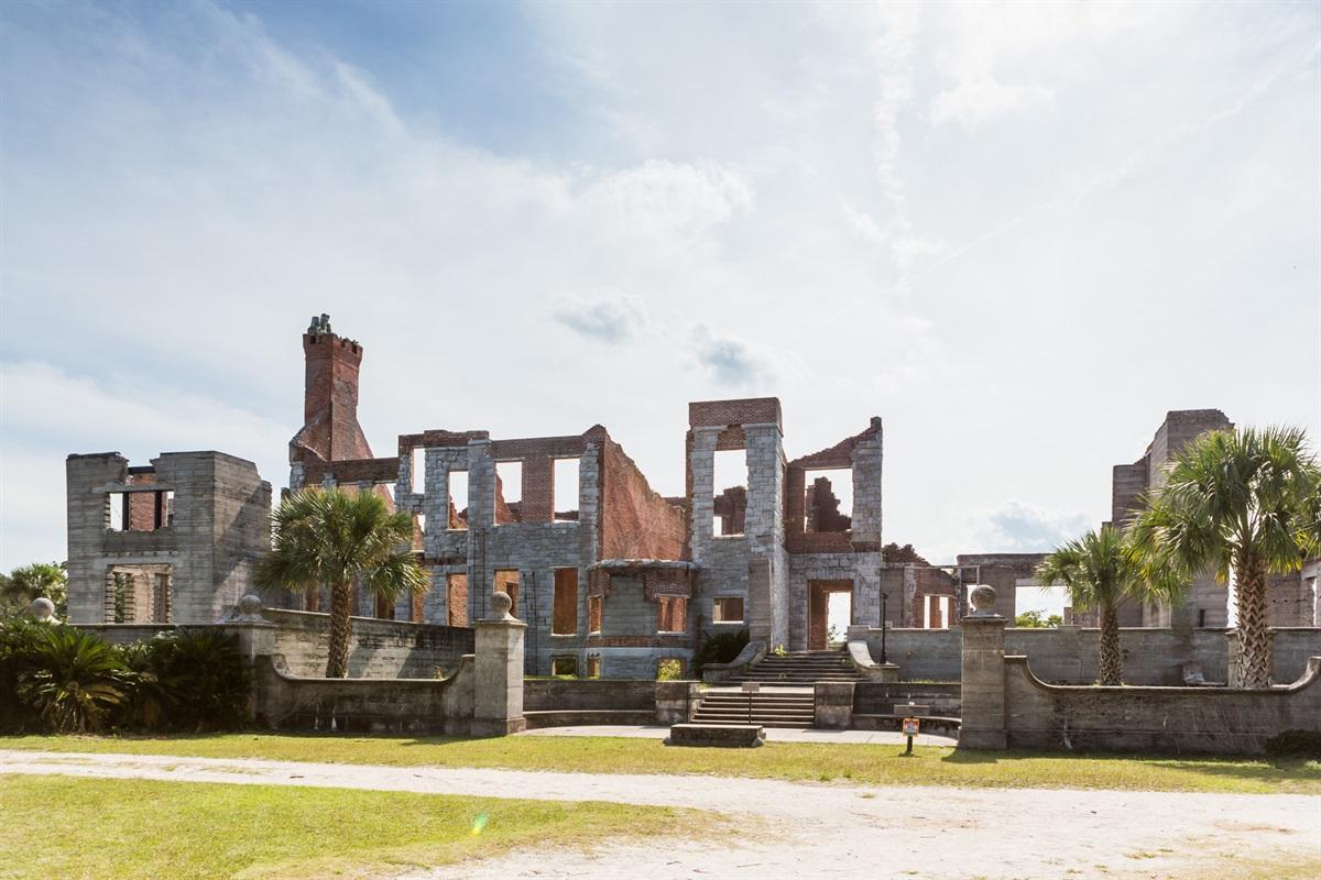 Dungeness - Carnegie Family Mansion on Cumberland Island, GA