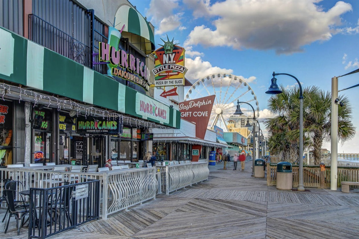 Boardwalk Area in Myrtle Beach