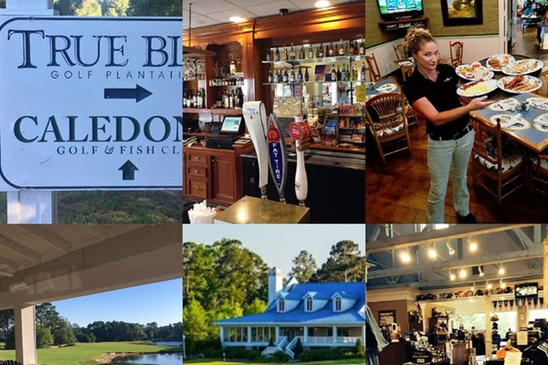 The club house offers a Pro Shop, Restaurant and Bar