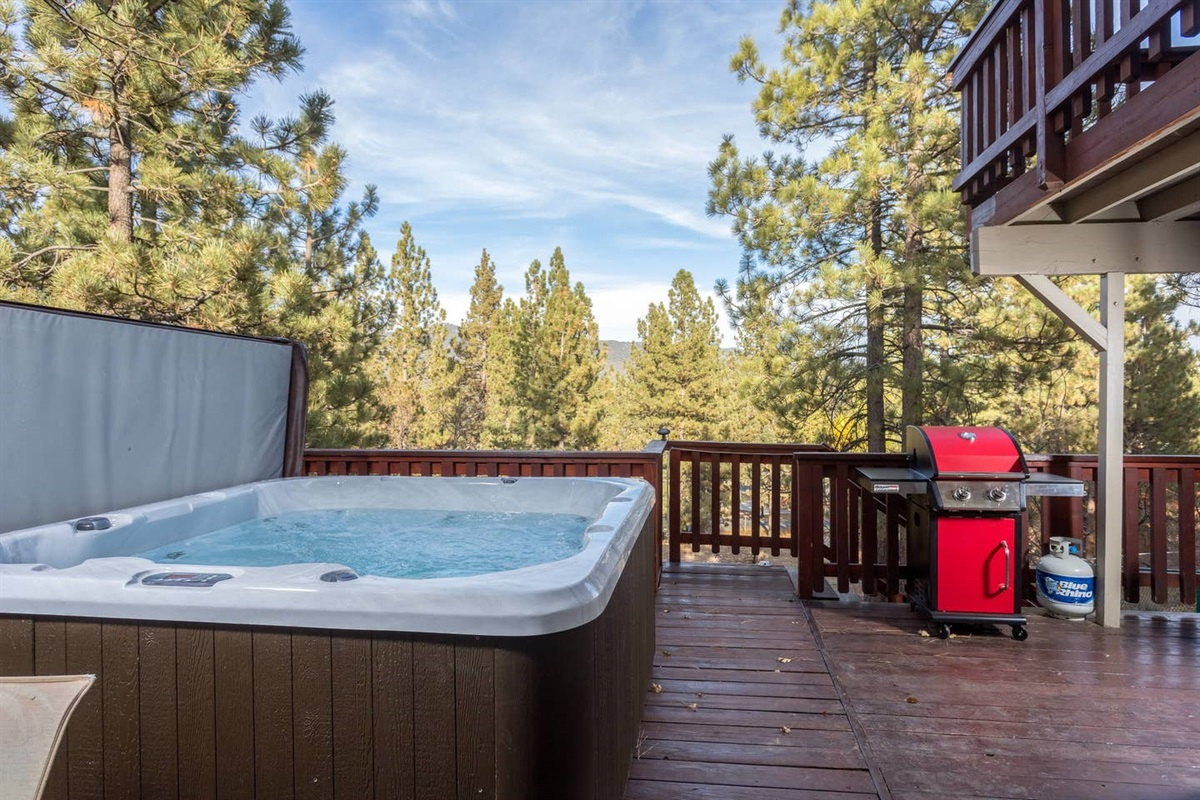 Brand new hot tub (Nov 2019)