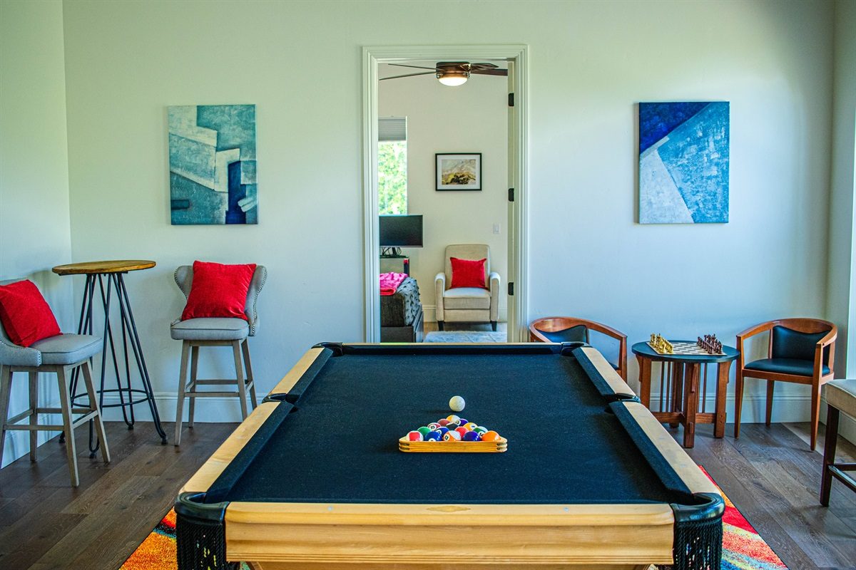 Get your competition on with pool and chess