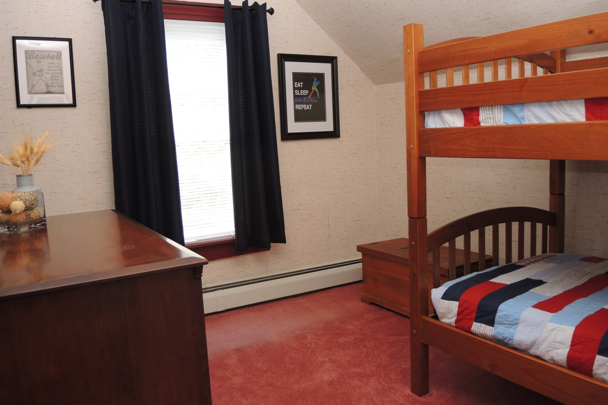 2nd floor Bunkbed room #1