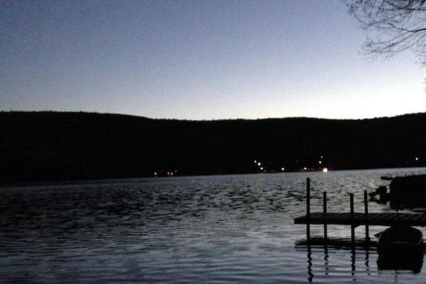 Beautiful Goodyear Lake, at dusk