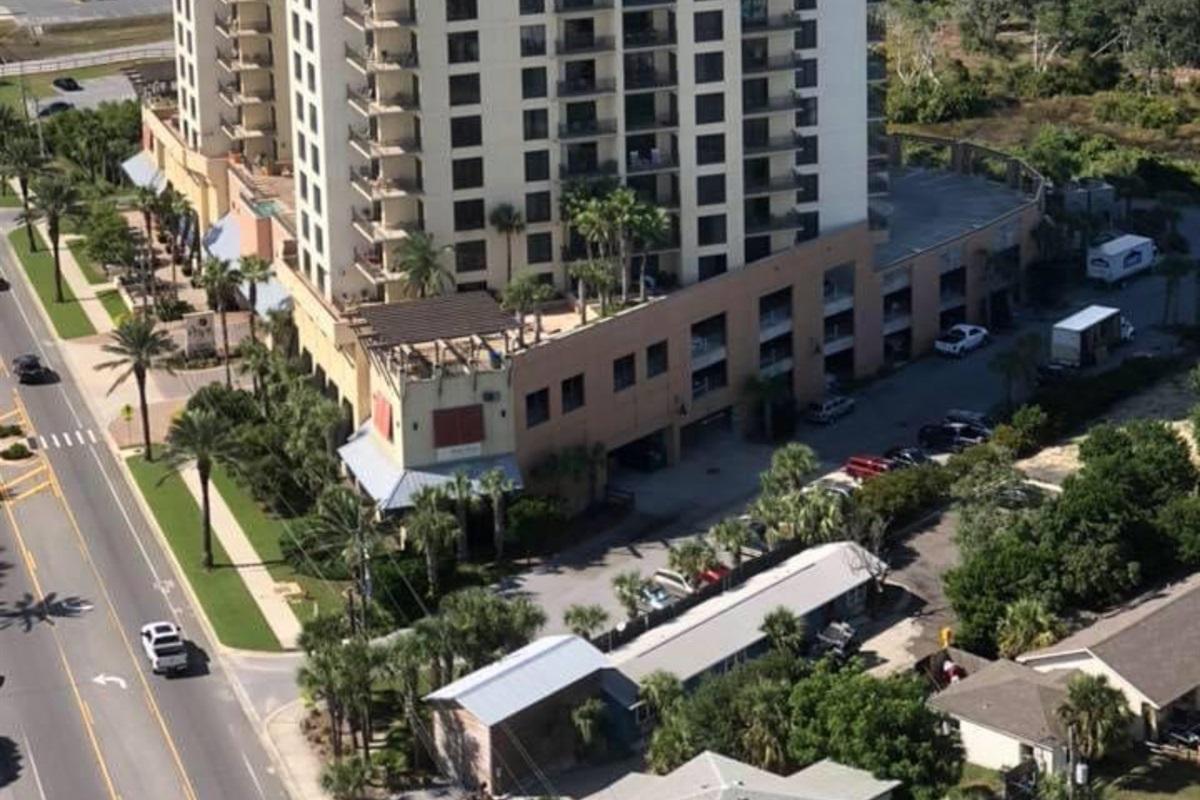 location of condo on building