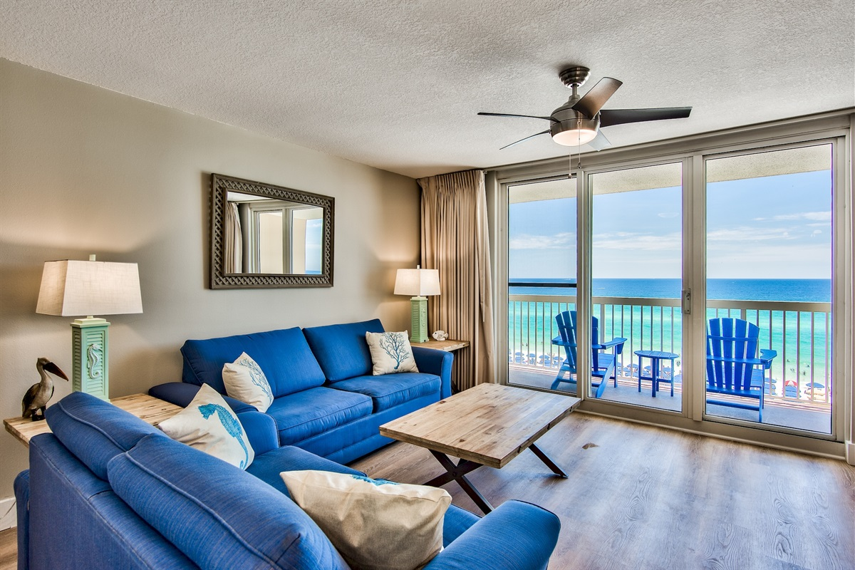Oceanfront with direct views