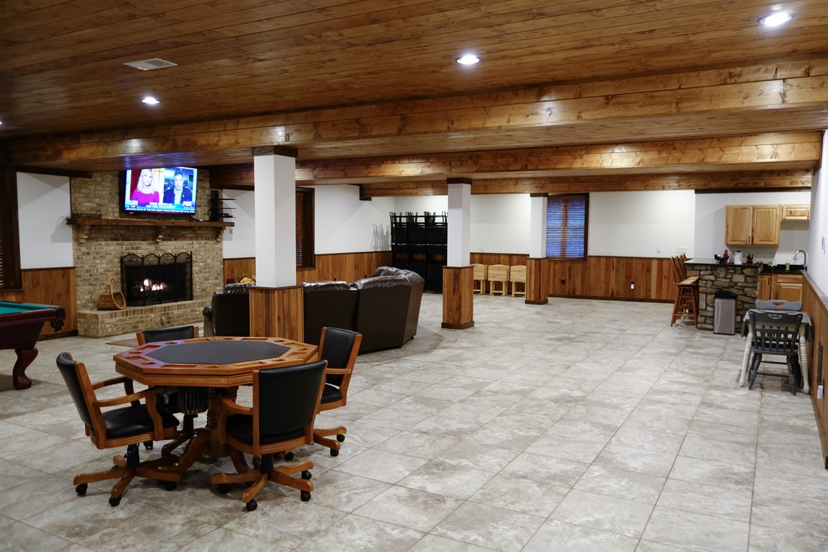Another view of game room
