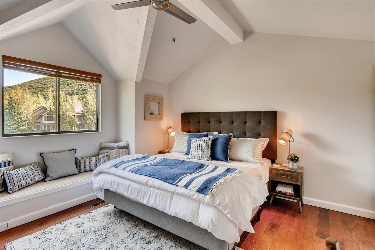 Bedroom 2 - King Bed, beautiful views,