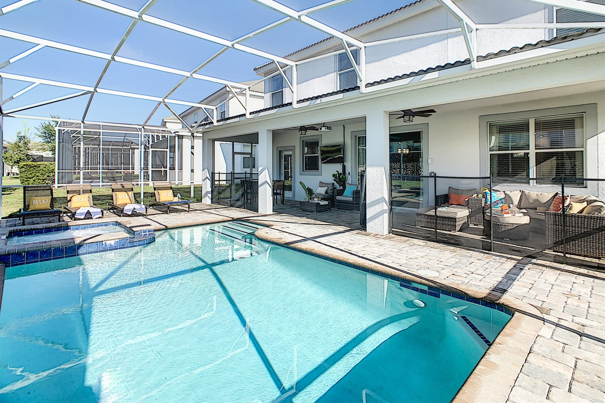 Private South Facing Heated Pool And Spa (Heating Extra $)