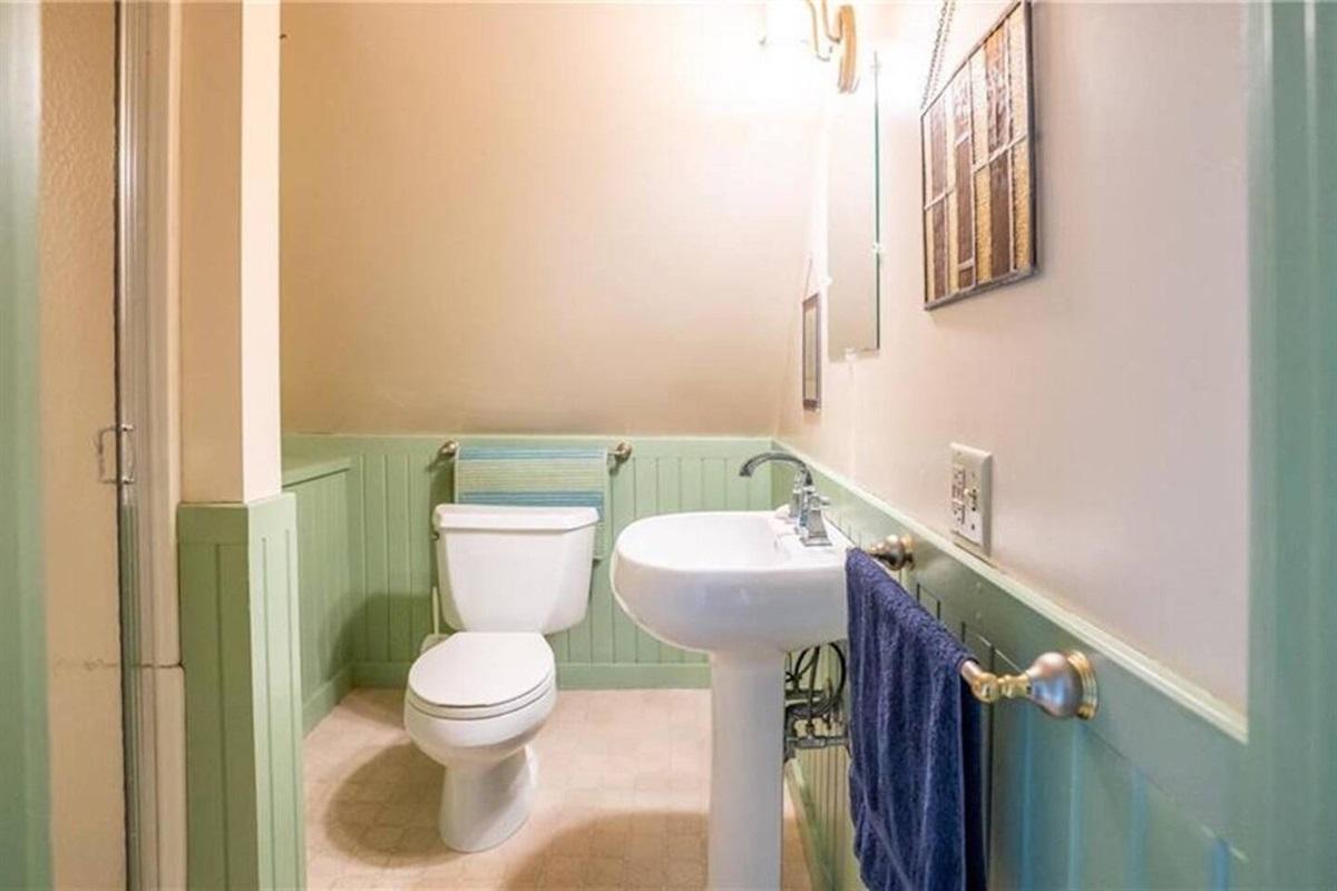 Second floor - full bath