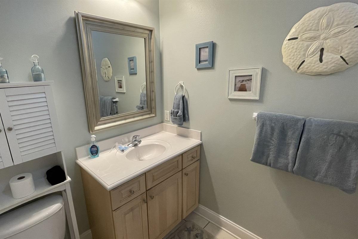 Ground level en-suite bathroom