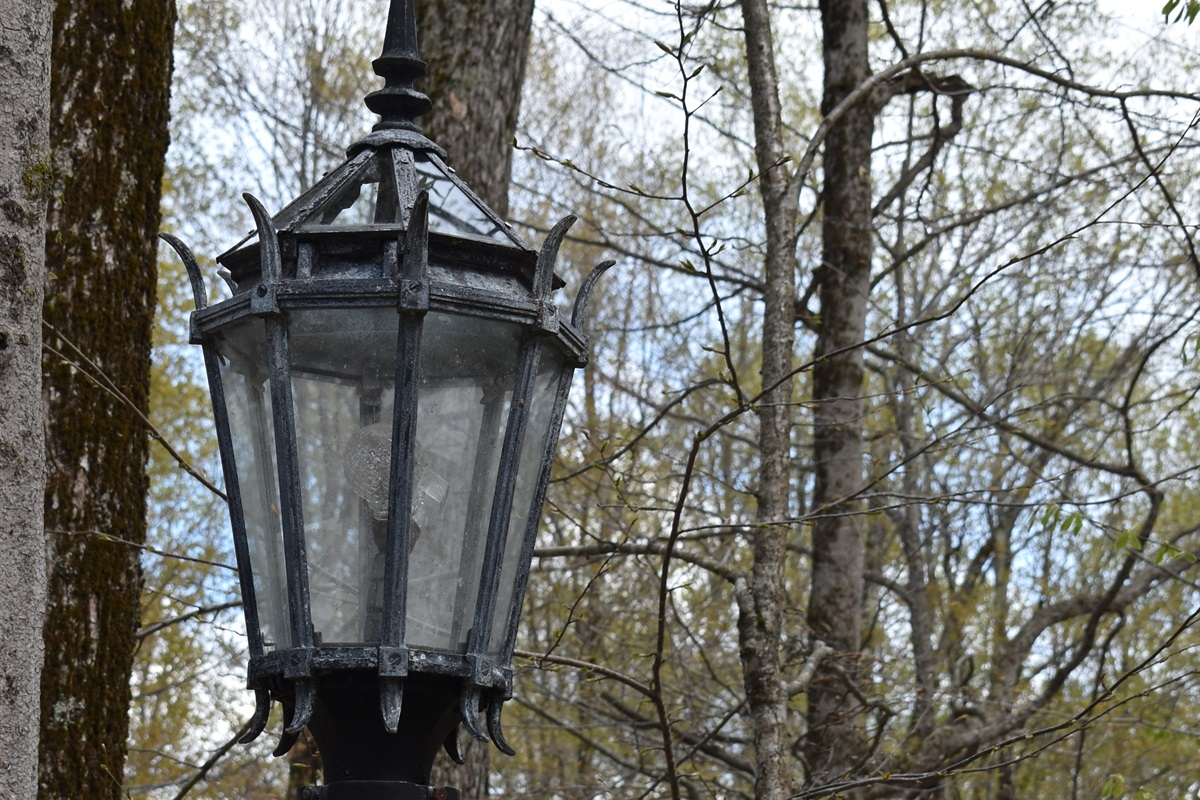 Exterior lights - recommissioned from Central Park, NYC