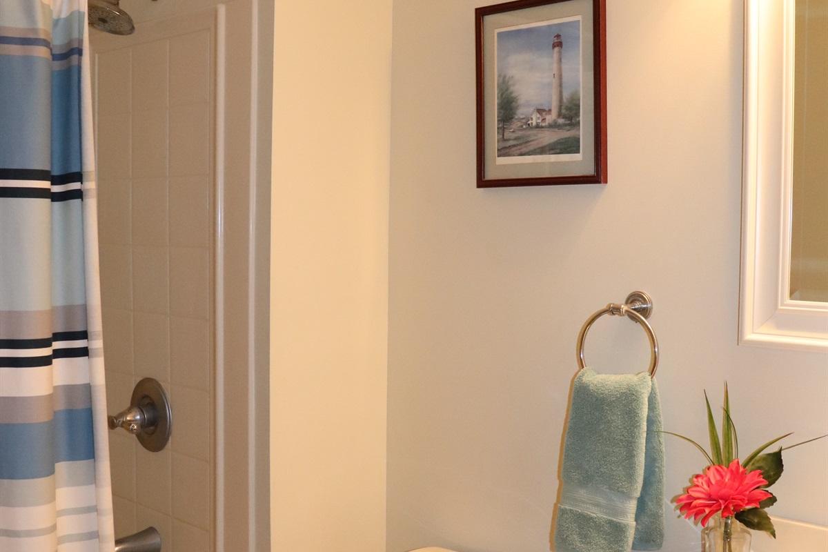 Full Bathroom with tub shower