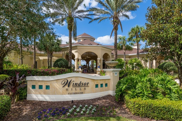Windsor Hills Clubhouse -- all resort amenities are included with your stay.