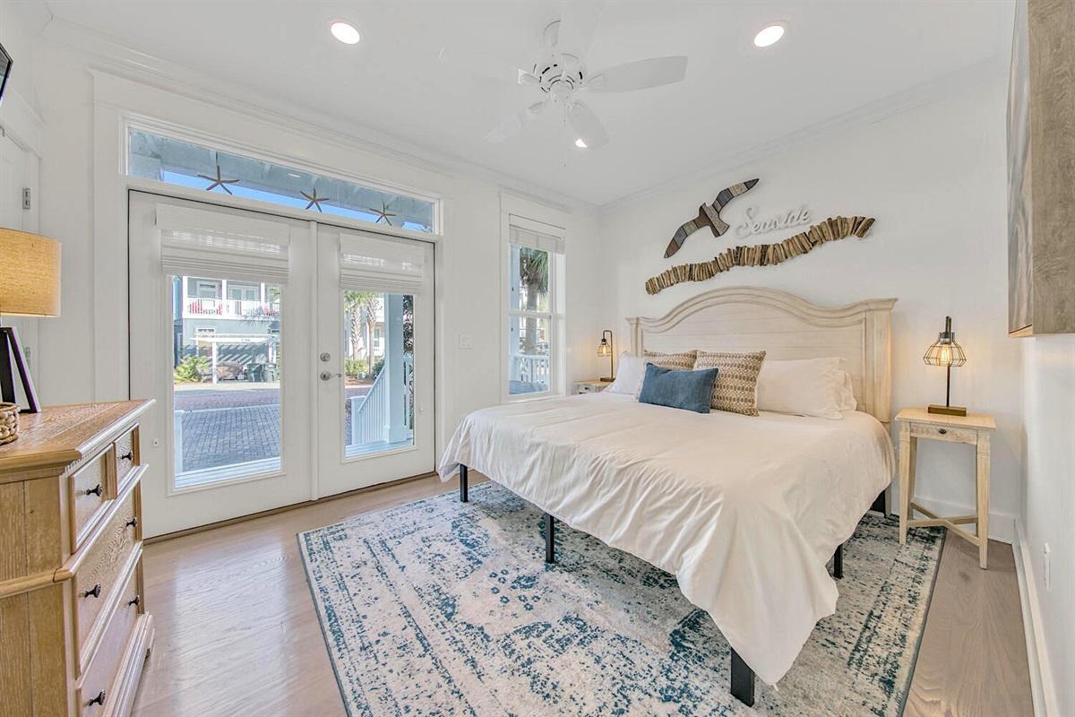 King bedroom - First floor