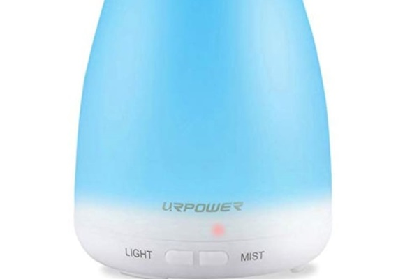 URPOWER Aromatherapy Mist Diffuser and Humidifier, featuring separate lighting functions with 7 vibrant colors. Breathe easy. :-)