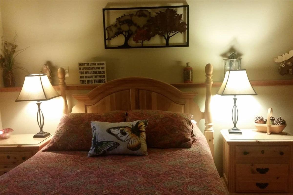 Downstairs Queen Bedroom #5