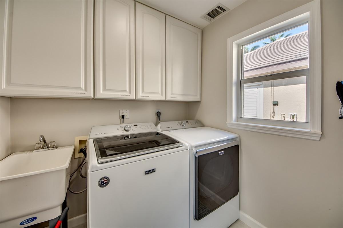 Full laundry facilities