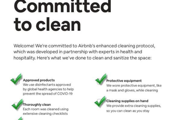 We're committed to clean! This property is fully cleaned and sanitized prior to every stay.