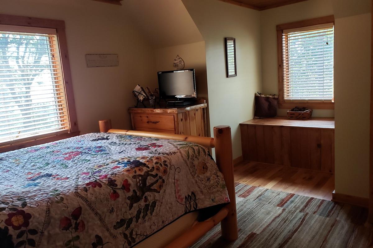 Upstairs Queen Bedroom #3