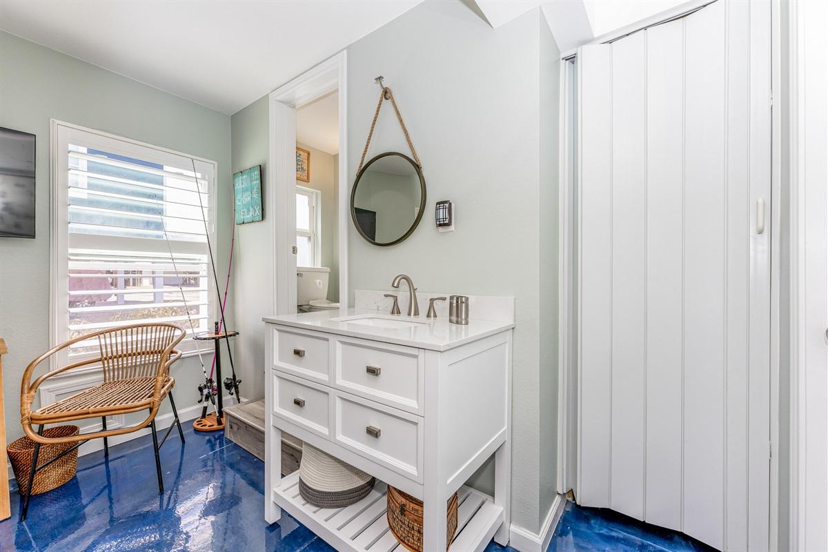 Sink in 3rd bedroom