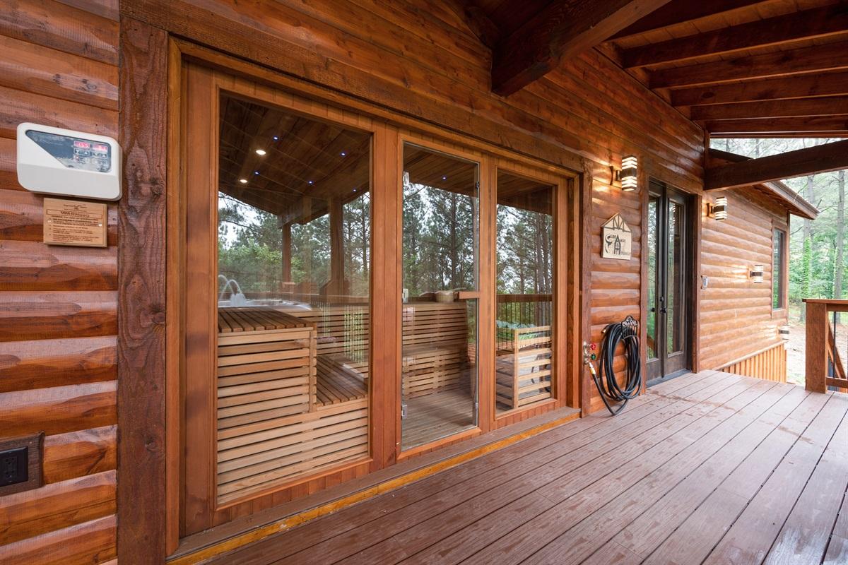 12 person Sauna