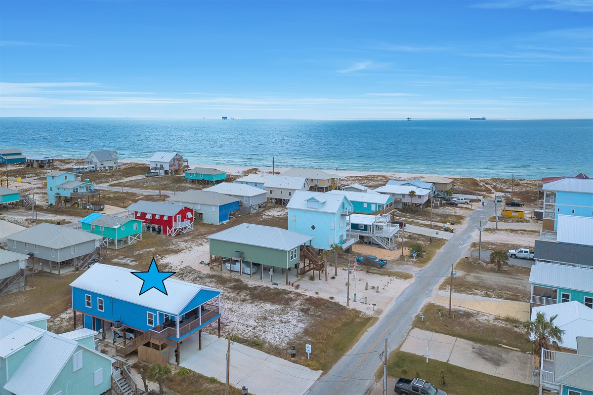 150 yards to the beach with gulf and bay views