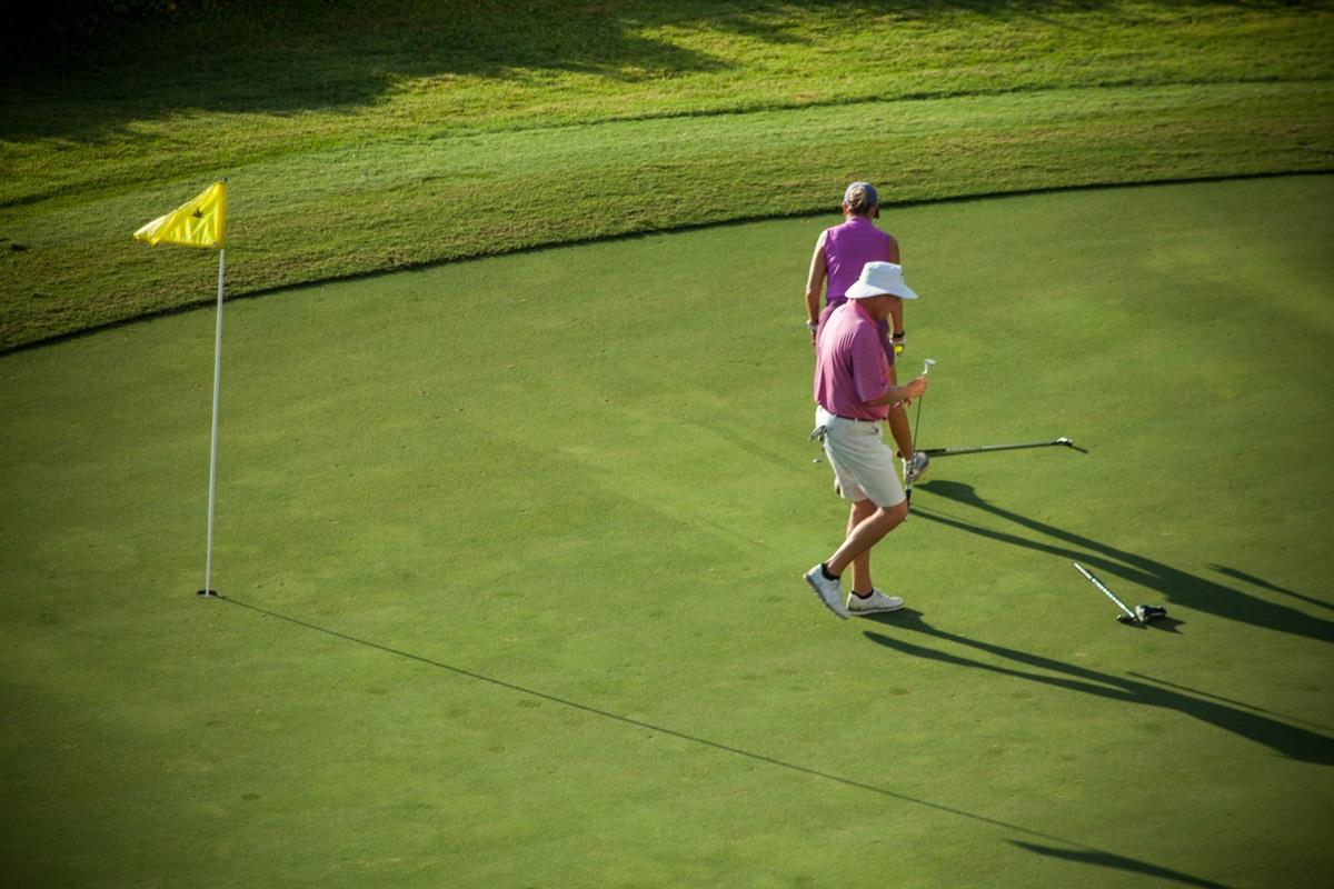 Plenty of Golf on Island